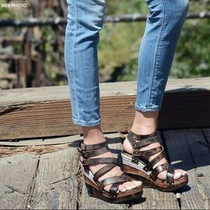 Bed Stu Juliana Sandals Brown 8.5